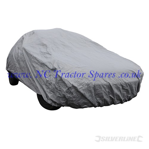 Car Cover 4310 x 1650 x 1190mm (M) (Silverline)