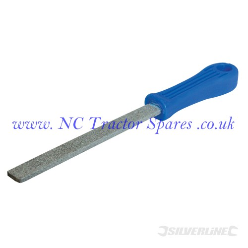 Carbide Grit File Flat 150mm (Silverline)