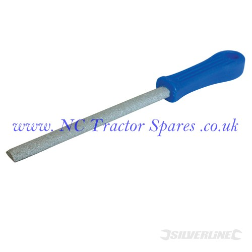 Carbide Grit File Half-Round 150mm (Silverline)