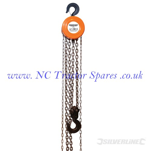 Chain Block . 3 Tonne / 3m Lift Height (Silverline)