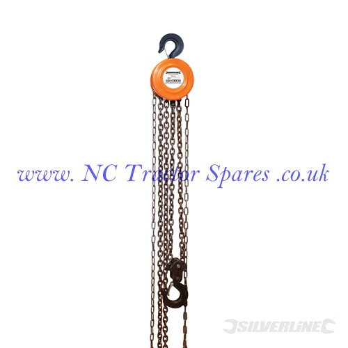 Chain Block 2 Tonne / 3m Lift Height (Silverline)