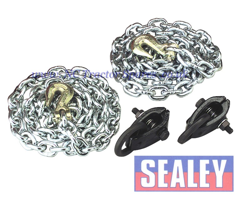 Chain Kit 2 x 1.5mtr Chains 2 x Clamps