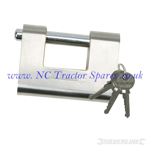 Close Armoured Shutter Lock Padlock 60mm (Silverline)