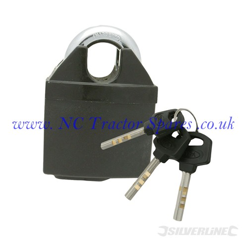 Close Shackle Padlock 50mm (Silverline)
