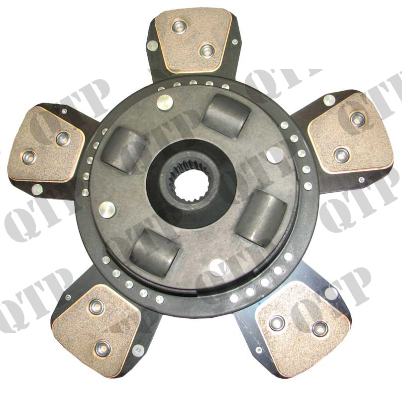 "Clutch Disc 300 12"" 5 Paddle Sintered Fine"