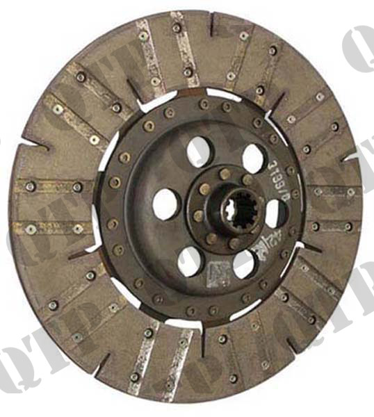 "Clutch Disc 698 13"" 10 Splined Bronze"