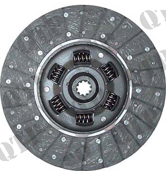 "Clutch Disc Ford 4000 4600 11"" 10 Spl &Spring"