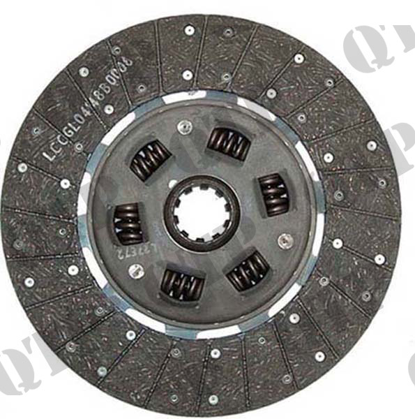 "Clutch Disc Ford 6600 7600 13"" 10 Splined"