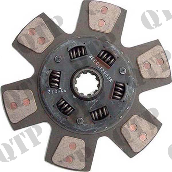 Clutch Disc Ford 7810 8200 10 Spline 13