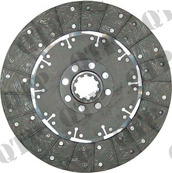 Clutch Disc Ford Dual Power 10 Spline 12