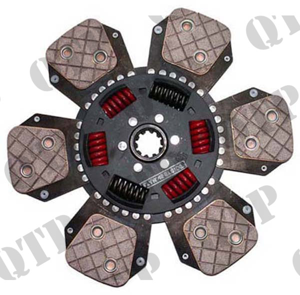 Clutch Disc John Deere 30/40/50 6 Paddle