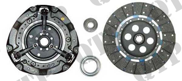"Clutch Kit 100 200 500 Fine Splined 12""."