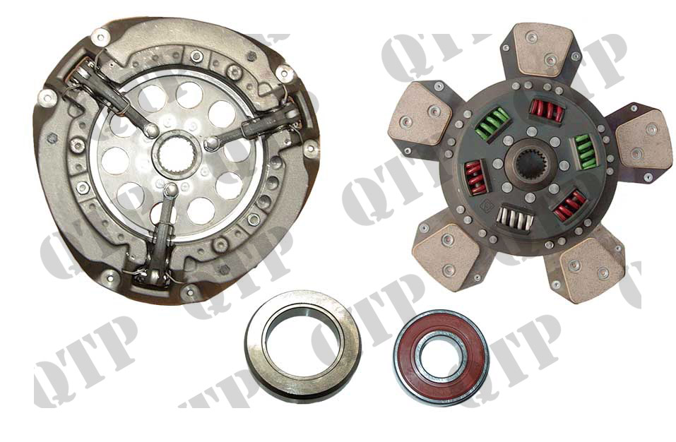 "Clutch Kit 390 4215 4220 12""+ Bronze Disc LUK"