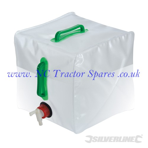 Collapsible Water Container 20Ltr (Silverline)