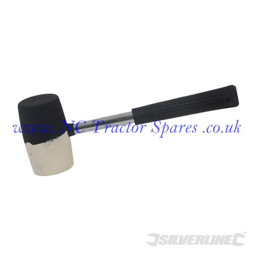 Combination Rubber Mallet, 24oz (Silverline)