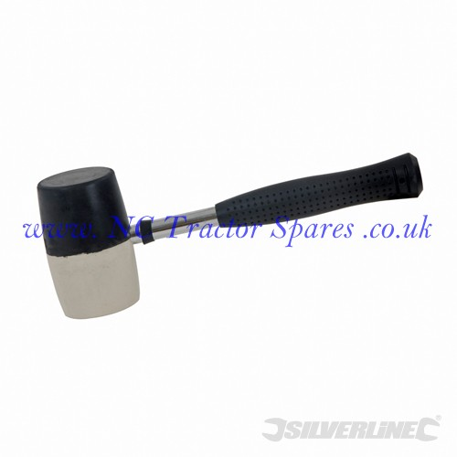 Combination Rubber Mallet. 32oz (Silverline)