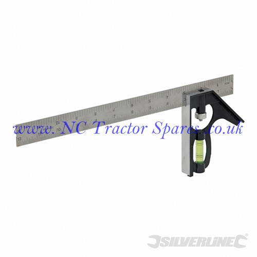 Combination Square 300mm (Silverline)