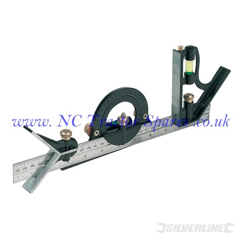Combination Square Set 300mm (Silverline)