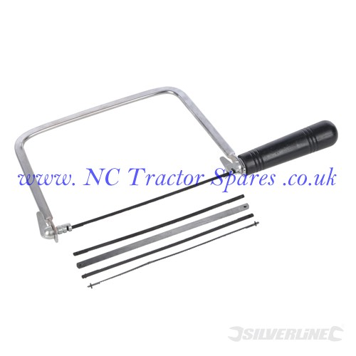 Coping Saw + 5 Blades 170mm (Silverline)