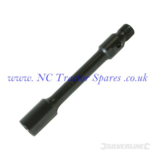 Core Drill Extension Bar 200mm (Silverline)