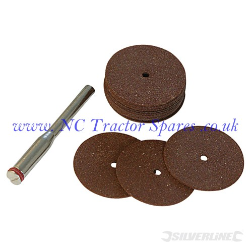 Cutting Disc Kit 18pce 22mm (Silverline)