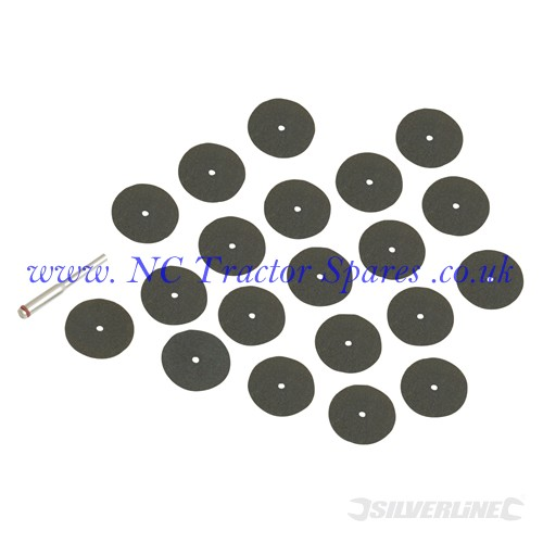 Cutting Discs Kit 36pce 22mm (Silverline)