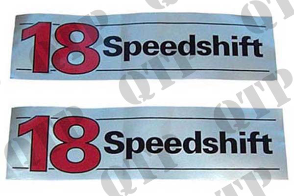 Decal 18 Speedshift