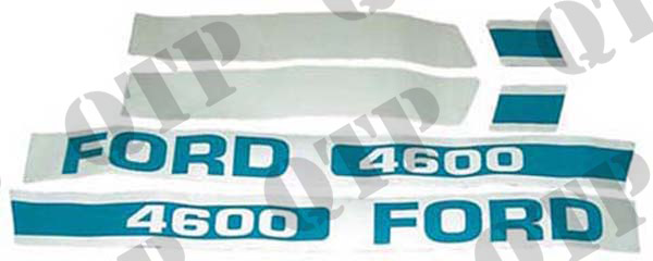 Decal Kit Ford 4600