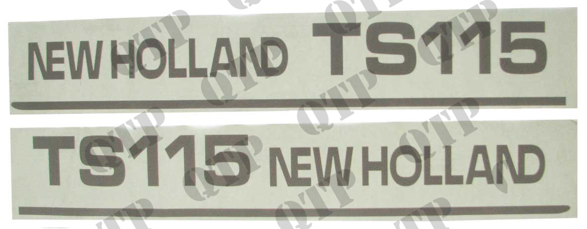 Decal New Holland TS115 - Set