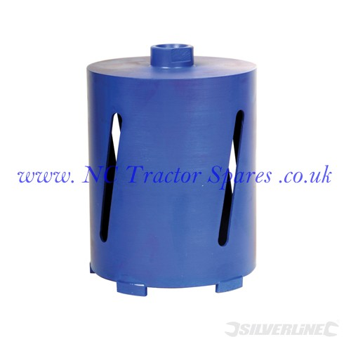 Diamond Core Drill Bit 127 x 150mm (Silverline)