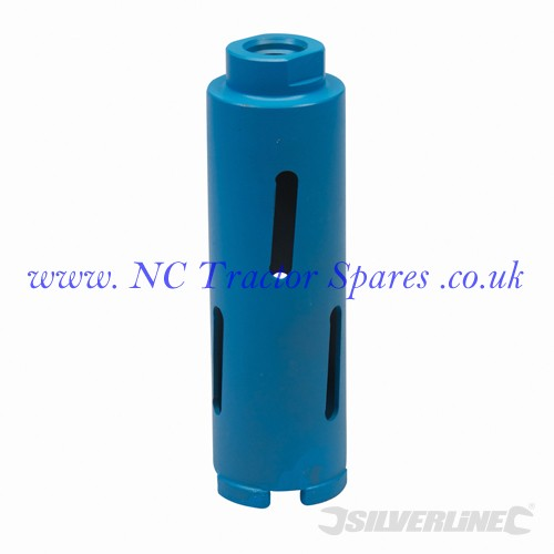 Diamond Core Drill Bit 52 x 150mm (Silverline)