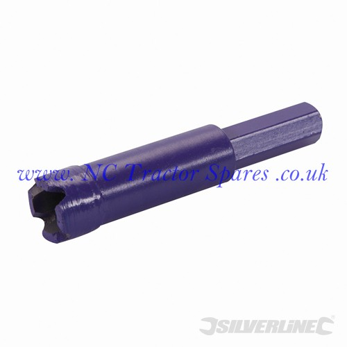 Diamond Mini Core Drill 16 x 80mm (Silverline)