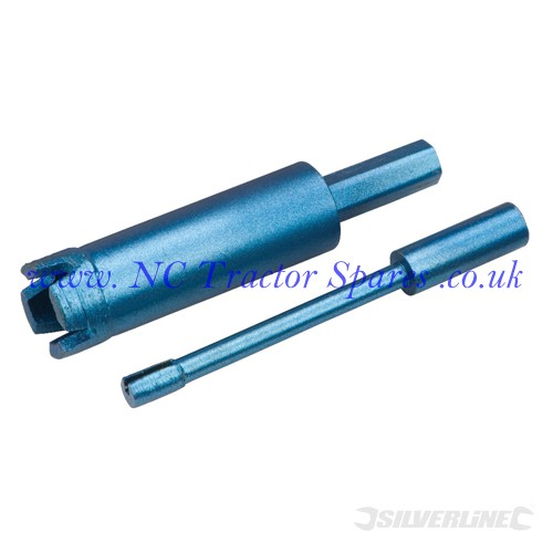 Diamond Mini Core Drill 6 x 80mm (Silverline)