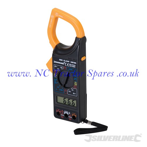 Digital Clamp Meter DC & AC (Silverline)