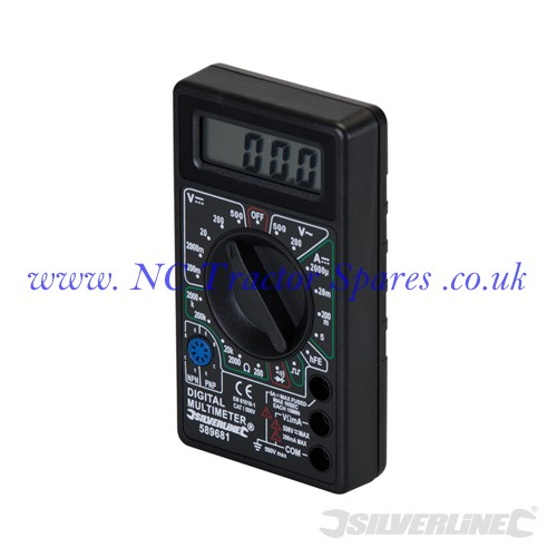 Digital Multimeter AC & DC (Silverline)