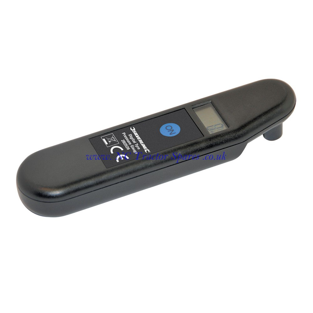 Digital Tyre Pressure Gauge 2 - 99.5psi (0.15 - 7bar) (Silverline)