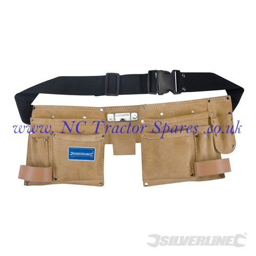 Double Pouch Tool Belt 11 Pocket 300 x 200mm (Silverline)
