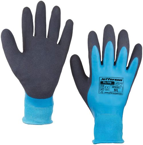 Dry Grip Water-Resistant Latex Glove X Large