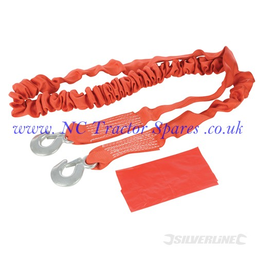 Elasticated Tow Rope 4 Tonne 4m x 60mm (Silverline)