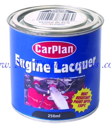 Engine Lacquer - Gloss Black 250ml
