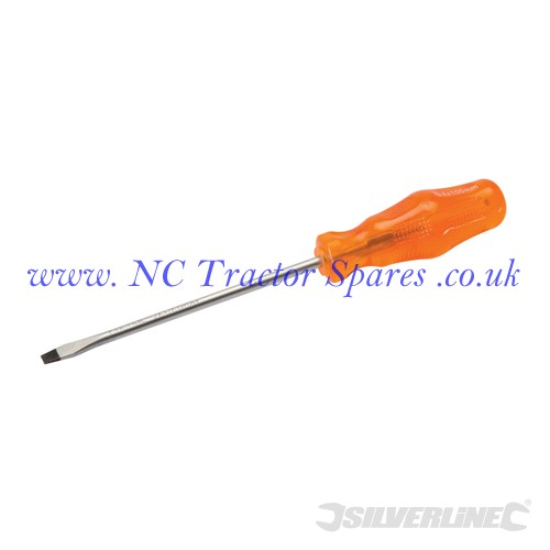 Engineers Screwdriver Slotted 4 x 100mm (Silverline)