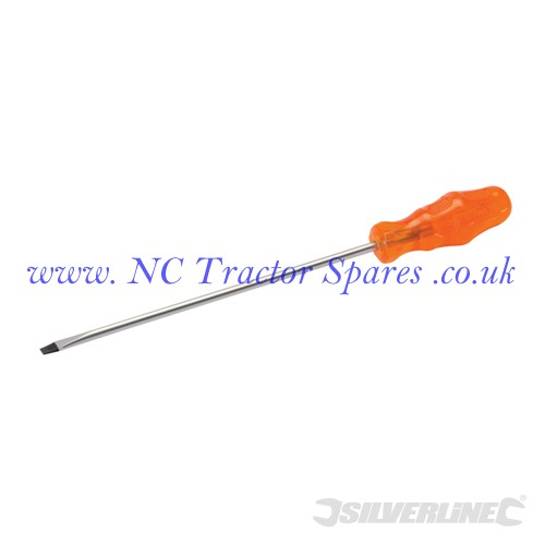 Engineers Screwdriver Slotted 5.5 x 200mm (Silverline)