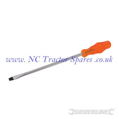 Engineers Screwdriver Slotted 9.5 x 250mm (Silverline)