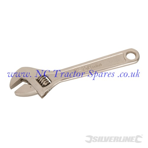 Expert Adjustable Wrench Length 150mm - Jaw 20mm (Silverline)
