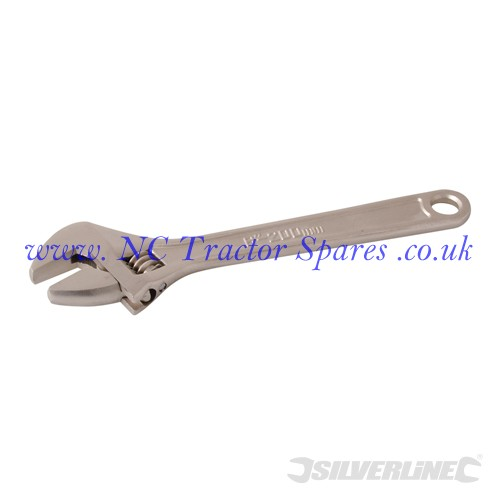 Expert Adjustable Wrench Length 200mm - Jaw 25mm (Silverline)