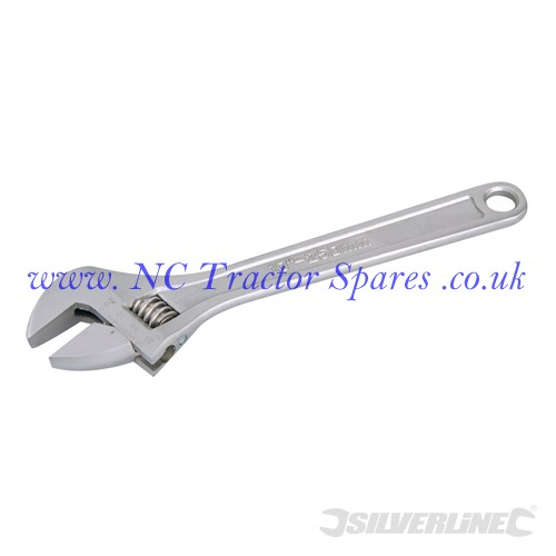 Expert Adjustable Wrench Length 250mm - Jaw 30mm (Silverline)