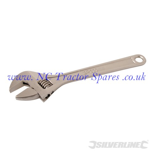 Expert Adjustable Wrench Length 300mm - Jaw 35mm (Silverline)