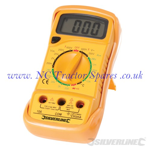 Expert Digital Multimeter AC & DC (Silverline)