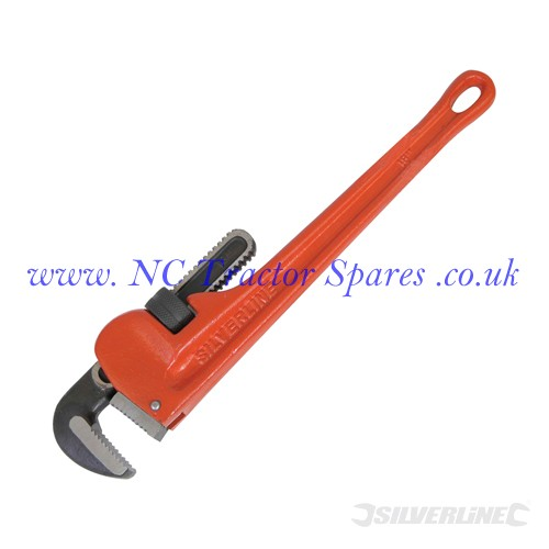 Expert Pipe Wrench Length 450mm - Jaw 70mm (Silverline)