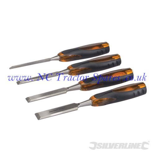 Expert Wood Chisel Set 4pce 6, 13, 19 & 25mm (Silverline)